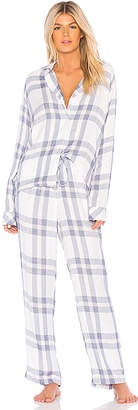 Rails Long Sleeve Trouser PJ Set