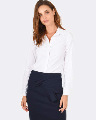 Forcast Elsie Collared Shirt