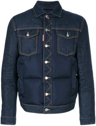 DSQUARED2 padded denim jacket