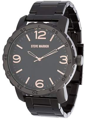 Steve Madden Men's Alloy 50mm Band Watch