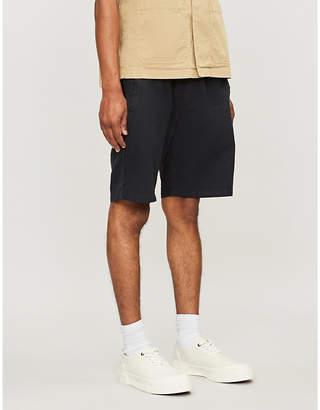 Folk Drawstring-waistband regular-fit linen and cotton-blend shorts