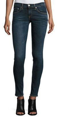 rag & bone/JEAN Low-Rise Skinny Jeans, Phoenicia $195 thestylecure.com