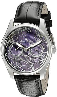 Lucien Piccard Women's LP-10147-01MOP Lovemaze Stainless Steel Watch with Mother-of-Pearl Dial