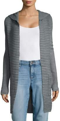 Cupio Women's Hooded Open Front Cardigan