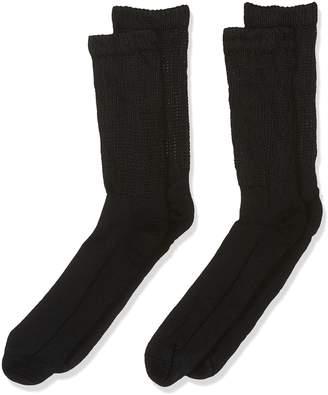 Dr. Scholl's Men's Big and Tall Diabetic and Circulatory Crew Socks 2 Pair
