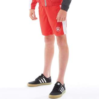 Converse Junior Boys Mesh Shorts Red