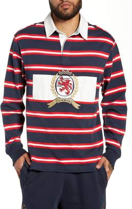 Tommy Jeans Crest Stripe Rugby Polo