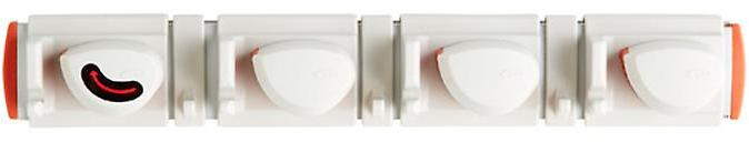 Good Grips Expandable Wall-Mounted Organizer White