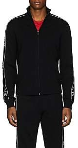 Valentino Men's Logo-Striped Track Jacket - Black