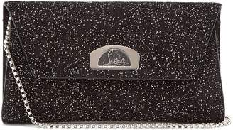 Christian Louboutin Vero Dodat embellished suede clutch