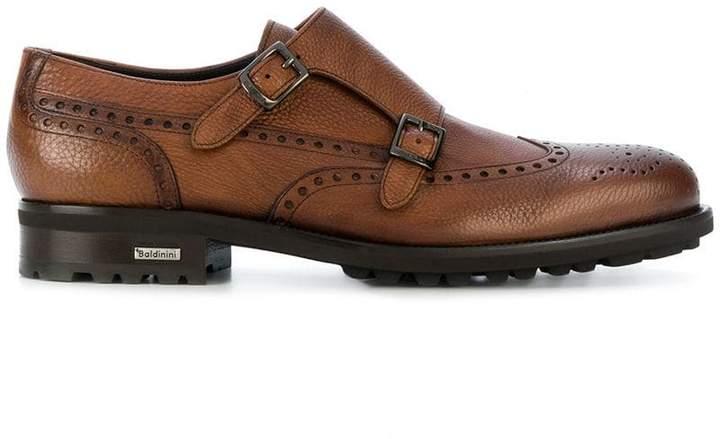 Baldinini casual monk shoes