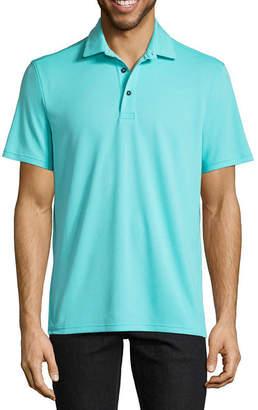 ST. JOHN'S BAY Quick Dry Short Sleeve Polo Shirt