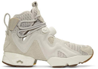 Reebok Classics Grey Furikaze Future High-Top Sneakers