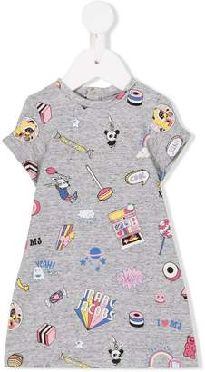 Little Marc Jacobs multi print dress