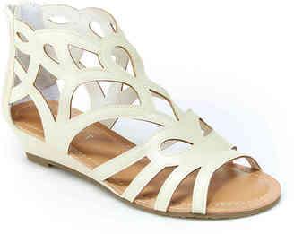 Women's Esprit Chai Gladiator Sandal -White $39 thestylecure.com