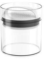 Prepara Green Grocer Fresh Saver Medium - Short Vacuum Seal Food Storage Container, White