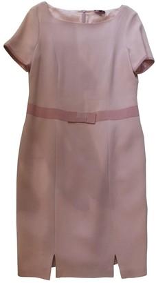 Rena Lange Pink Wool Dresses