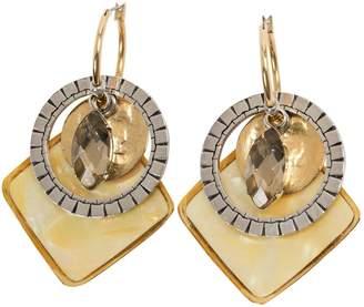Reminiscence Gold Metal Earrings