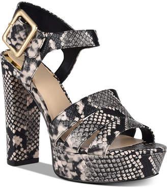 GUESS Lylah Platform Dress Sandals Women Shoes