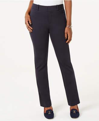 Charter Club Petite Ponte-Knit Skinny Pants