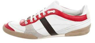 Christian Dior B55 Leather Sneakers
