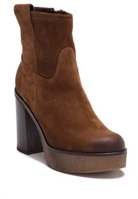 Manas Design Tronchetto Con Tacco E Plateau Heeled Boot