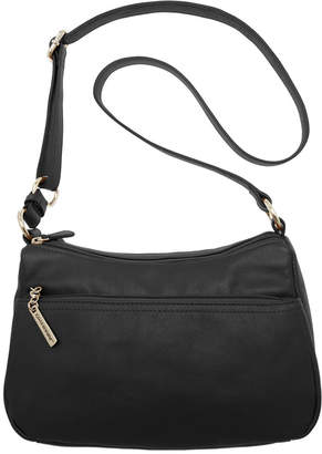 Giani Bernini Nappa Leather Double Entry Hobo, Created for Macy's