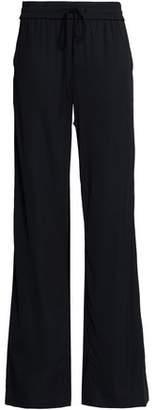 Moschino Crepe Wide-Leg Pants