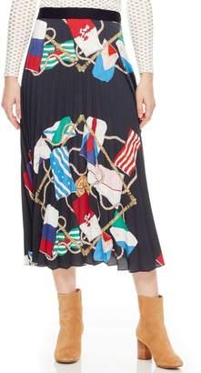 Sandro Gabriella Pleated Skirt