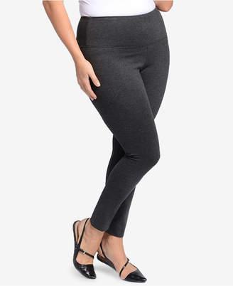 Lysse Women's Ponte Center Seam Plus Size Leggings