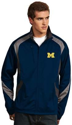 Antigua Men's Michigan Wolverines Tempest Desert Dry Xtra-Lite Performance Jacket