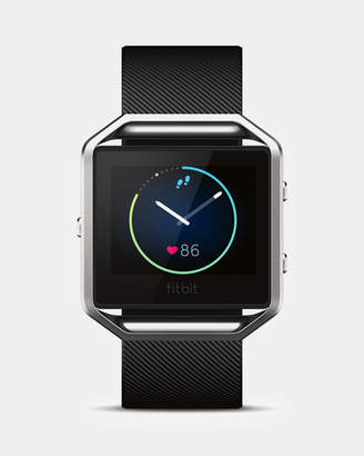 Fitbit Blaze Watch - Black/Silver