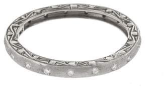 Couture Sethi Brushed Diamond Ring - White Gold