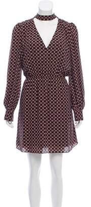 Rebecca Minkoff Cut-Out Mock-Neck Dress w/ Tags