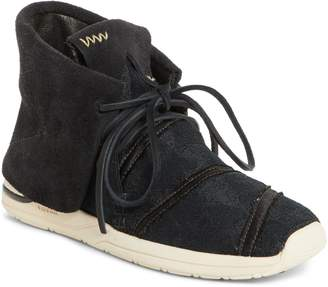 Visvim WMV Huron Lhamo Hi Folk Hidden Wedge Sneaker