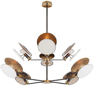 Visual Comfort & Co. Osiris Reflector Chandelier - Antiqued Brass/Bronze