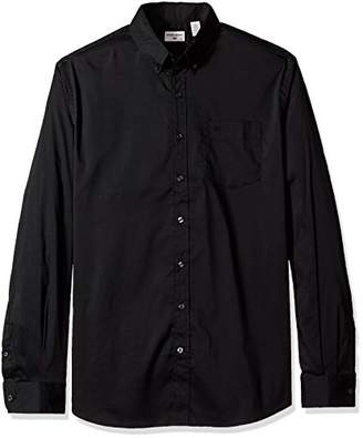 Dockers Big and Tall Comfort Stretch Soft No Wrinkle Button Front Shirt