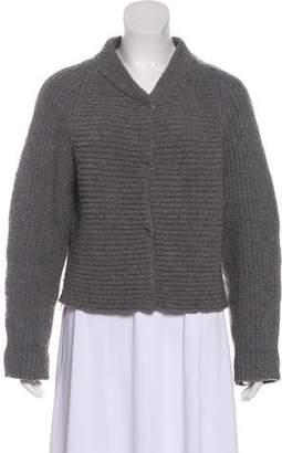 Proenza Schouler Button-Up Long Sleeve Cardigan