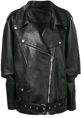 Maison Margiela oversized biker jacket