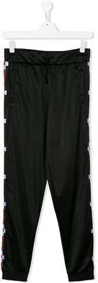 Marcelo Burlon County of Milan Kids TEEN side panel track pants