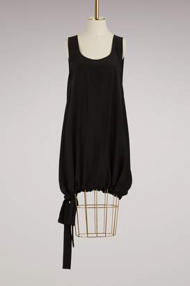 Jil Sander Day Silk Oversized Top