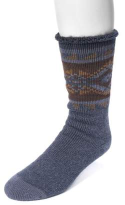 Muk Luks Men's 1-Pair Heat Retainer Socks