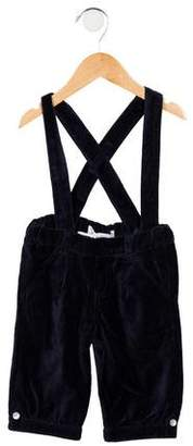 Tartine et Chocolat Boys' Velvet Suspender Bottoms w/ Tags
