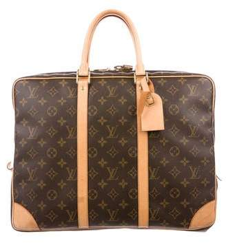 f178f34cd366 Louis Vuitton Monogram Porte-Documents Voyage Briefcase