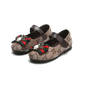 Zarachielly Utopia Toddler Little Girls Dress Ballet Mary Jane Bow Flat Shoes