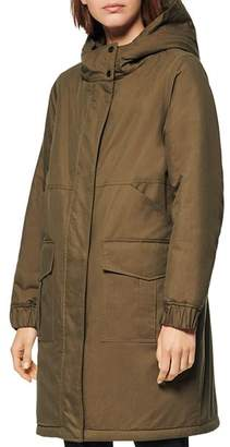 Andrew Marc Wharton Reversible Parka & Faux Fur Coat