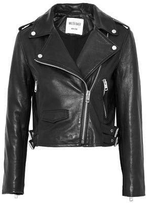 W118 By Walter Baker Liz Leather Biker Jacket