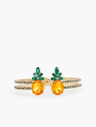 Talbots Jewel Pineapple Bangle