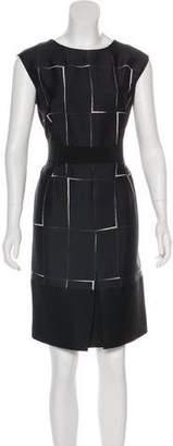 Giambattista Valli Wool Printed Dress