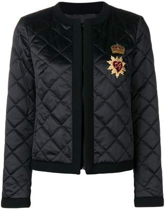 Dolce & Gabbana diamond quilted jacket